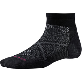 Smartwool Run Targeted Cushion Low Cut Calcetines Running Mujer, negro